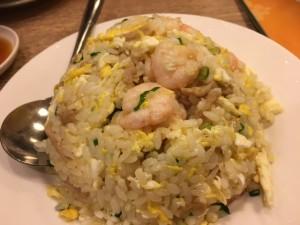 海老炒飯。これだけ食べにきても良いくらい美味!!スゴイぞ鼎泰豊!!